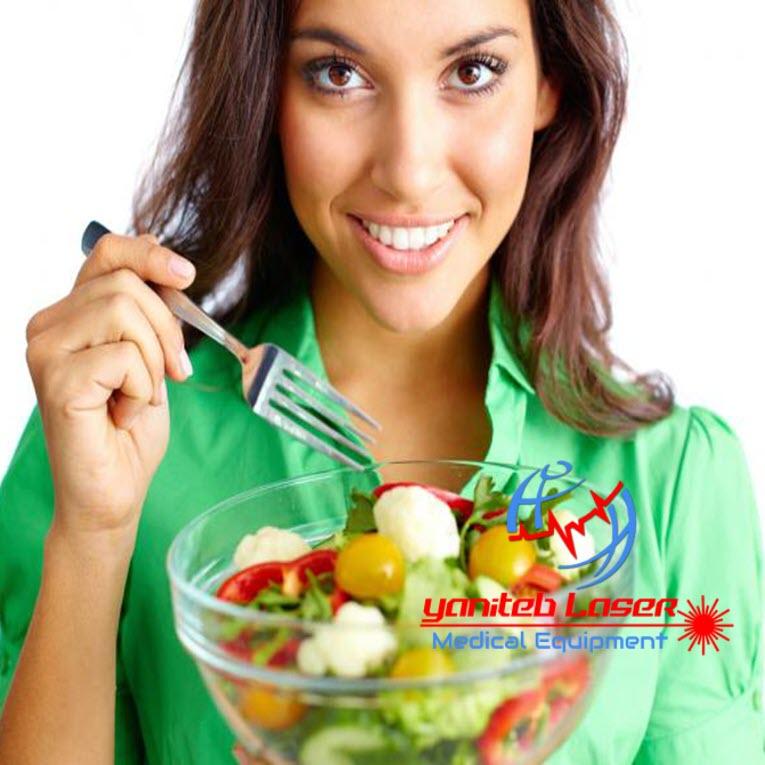 رژیم غذایی و سلامت پوست - یانی طیب لیزر